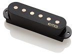 EMG SAV Alnico V Single Coil Active Strat Guitar Pickup, Black