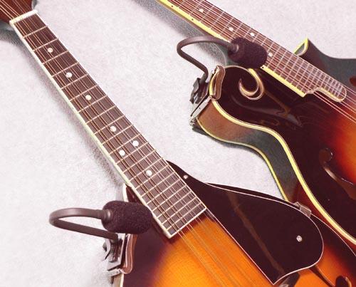 "K/&K Sound Golden Bullet Guitar//Stringed Instrument Microphone w//Preamp 1//4/"""