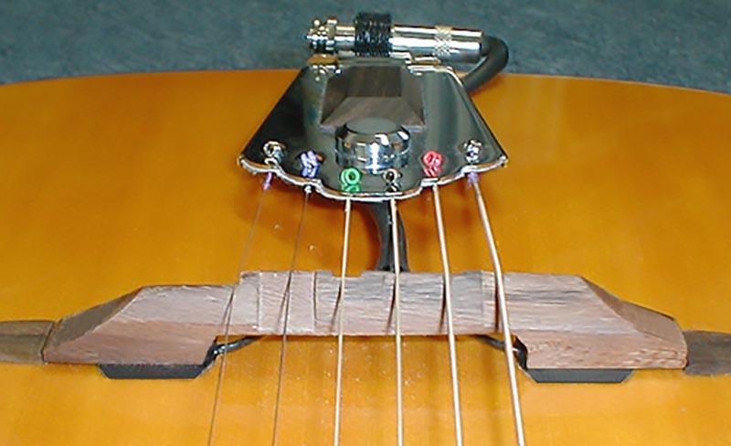 K&K Sound Pure Floating Bridge Jazz Guitar Dual Pickup