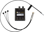 K&K Sound Trinity Mini PRO Guitar Pickup System w/Mic and Gold Strap Button
