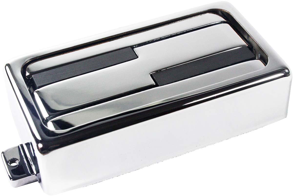 Lace 20123 Alumitone Humbucker Guitar Pickup, Chrome w/Trim Ring