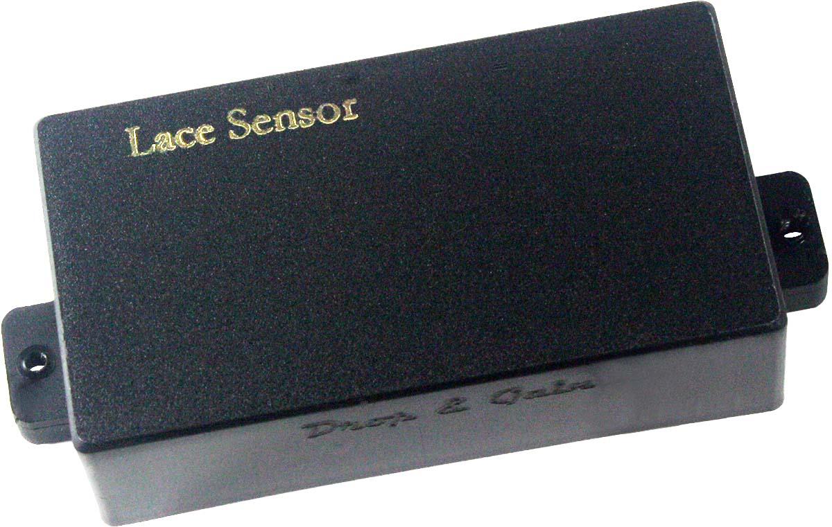 Lace 04902 Drop Gain D Low Noise Humbucker Bridge Pickup Wiring Black New