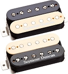 Seymour Duncan Hot Rodded Humbucker Set, SH-2n Neck and SH-4 JB Bridge Pickups, Reverse Zebra