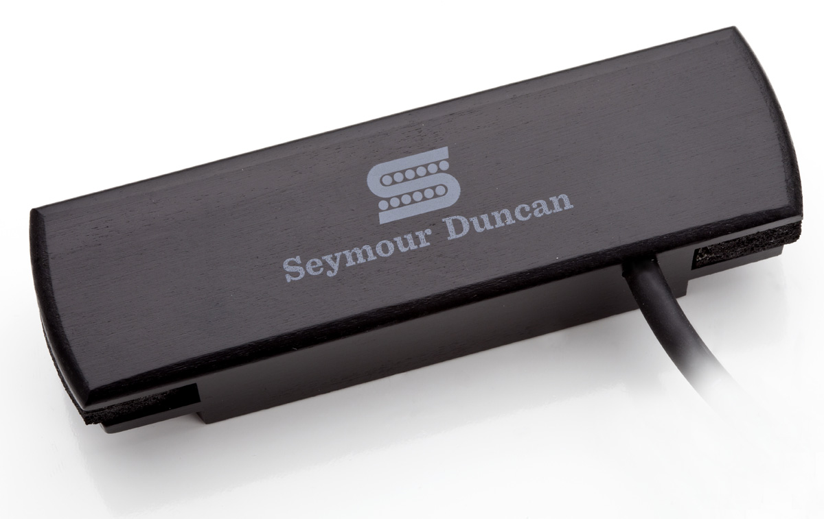 Seymour Duncan SA-3HC WALNUT Woody Dual Coil Magnetic Soundhole Humbucker Pickup