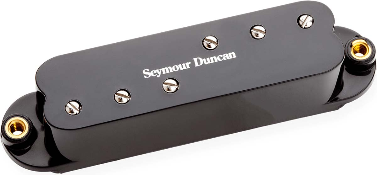 neck black mid Seymour Duncan SDBR Duckbuckers for Strat