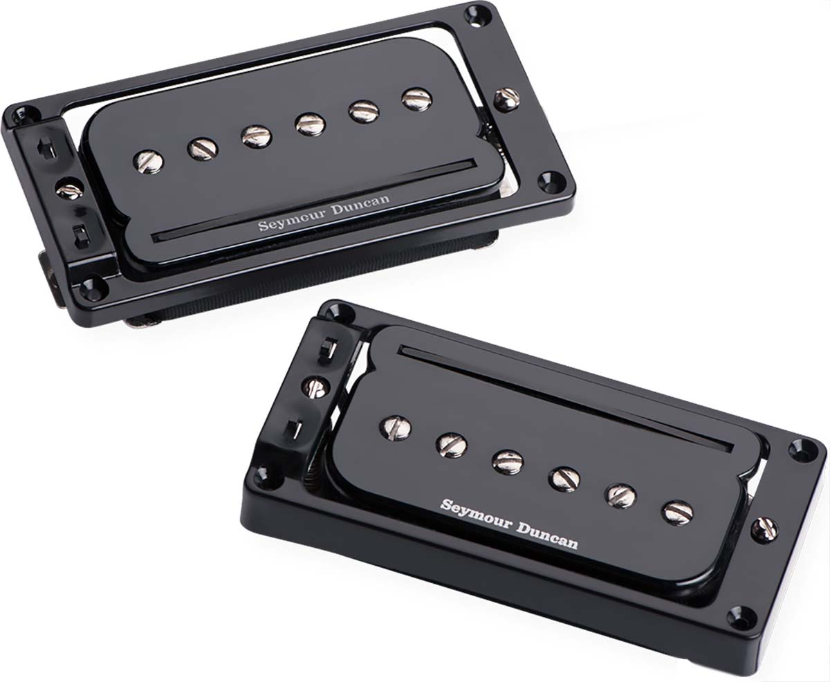 SEYMOUR DUNCAN P-RAILS HUMBUCKER WHITE NECK SHPR-1n