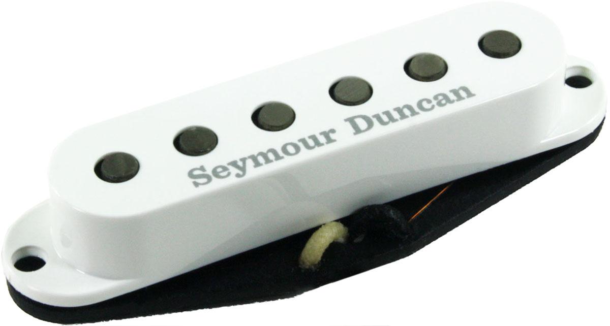 seymour duncan aps 2 alnico 2 pro vintage flat strat single coil pickup white ebay. Black Bedroom Furniture Sets. Home Design Ideas