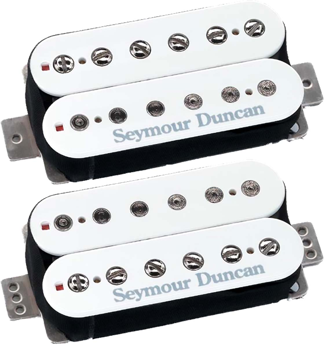 Details about Seymour Duncan F-Spaced Hot Rodded Humbucker Set: SH-2n +  TB-4 JB Bridge, White