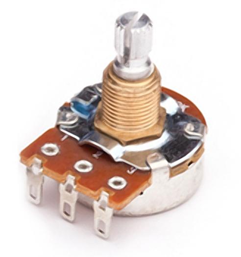 Mighty Mite MM718 Custom Control Pot 500K Sealed Audio Volume//Tone Medium Shaft