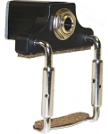Schatten CJA Low Profile Clamp-on Jack Assembly for Violin/Viola/Mandolin, Pickup Not Included