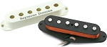 Seymour Duncan APS-1 Alnico 2 Pro Staggered Strat Pickup, Left Hand, White Cover