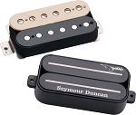 Seymour Duncan Dimebag Humbucker Pickup Set, SH-13 Bridge + SH-1n Neck, Zebra