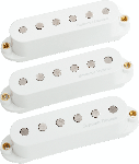 Seymour Duncan LW-CS2 Livewire Classic II Calibrated Strat Pickup Set, White