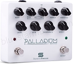 Seymour Duncan Palladium Gain Stage Guitar Effects Pedal w/EQ, 3 Gain Stages, Boost, White