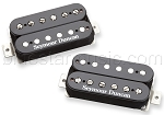 CUSTOM: Seymour Duncan Saturday Night Special Set, Black, NO LOGO, GOLD SCREWS AND POLES