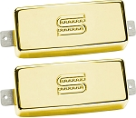 Seymour Duncan SM-1 Vintage Mini Humbucker Firebird Neck/Bridge Pickup Set, Gold