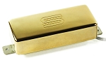 Seymour Duncan SM-2b Custom Mini Humbucker Firebird Bridge Pickup, Gold Cover