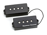 Seymour Duncan SPB-2 Hot P-Bass Pickup Set, Black