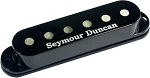 Seymour Duncan SSL-6T Custom Flat Strat Pickup, TAPPED, Black