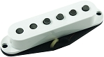 Seymour Duncan SSL-1L Vintage Left-Hand Staggered Single Coil Strat Pickup, White, No Logo