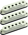 Seymour Duncan SSL-6 Custom Flat Strat 3 Pickup Calibrated SET, Parchment