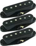 Seymour Duncan California 50's Single Coil SSL-1 Pickups, Set of 3, Black, No Logo