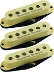Seymour Duncan APS-1-CSET Alnico 2 Pro Staggered 3 Pickup Calibrated Set for Strat, Cream