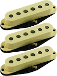 Seymour Duncan APS-1-CSET Alnico 2 Pro Staggered 3 Pickup Calibrated Set for Strat, Cream, No Logo