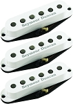 Seymour Duncan California 50's Single Coil SSL-1 Pickups, Set of 3, White Covers