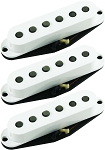 Seymour Duncan California 50's Single Coil SSL-1 Pickups, Set of 3, White, No Logo
