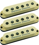 Seymour Duncan SSL-5 Custom Staggered Strat 3 Pickup Calibrated Set, Cream