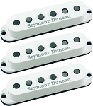 Seymour Duncan SSL-5 Custom Staggered Strat 3 Pickup Calibrated Set, White