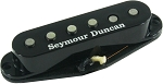 Seymour Duncan APS-1R Alnico 2 Pro Staggered Strat Middle Pickup, RWRP, Black Cover