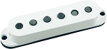 Seymour Duncan SSL-5 Custom Staggered Strat Neck/Bridge Pickup, White, No Logo