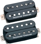 Seymour Duncan Distortion F-Spaced Set: TB-6b Bridge + SH-6n Neck, F-Spaced, Black