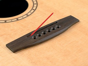 "B-Band UST-22R (UST 22R, UST22R) Replacement Undersaddle Pickup, 3/32"" (Narrow)"