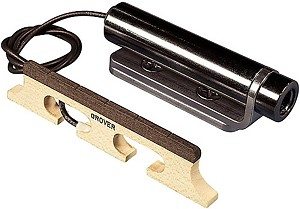 LR Baggs Banjo Pickup Piezo Bridge Transducer with Custom Jack Mount