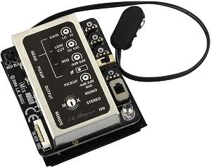 LR Baggs iMix Guitar Pickup System w/IBeam & Element Pickups, Preamp, Mixer, Vol