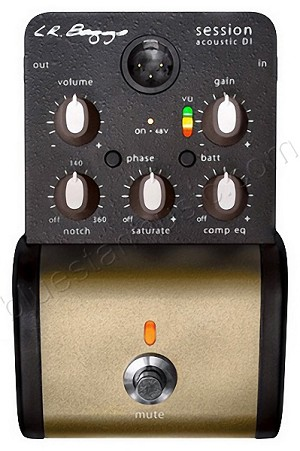 LR Baggs Session Acoustic Preamp/DI w/Analog Saturation & Compression EQ