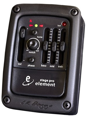 LR Baggs StagePro Onboard System w/Element Pickup
