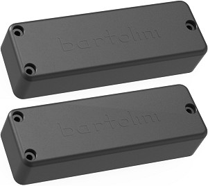 Bartolini BC4CB-B/T Soapbar Ceramic Neck/Bridge Pickup Set for 4-String Bass Guitar