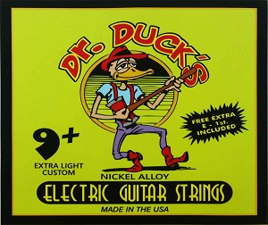 Dr. Duck's Custom Light Electric Guitar Strings .009-.046