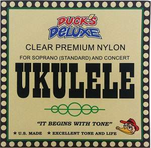 Dr. Duck's Ukulele Strings - 4-String Set, for Soprano/Tenor/Concert Uke