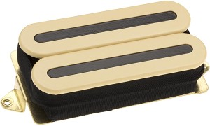 DiMarzio DP102 X2N Super High Gain Ceramic Bar Humbucker Bridge Pickup, Cream