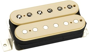 DiMarzio DP103F PAF Vintage 1950's F-Spaced Humbucker Alnico 5 Pickup, Cream