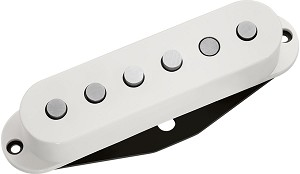 DiMarzio DP110 FS-1 High Output Single Coil Alnico 5 Strat Pickup, White