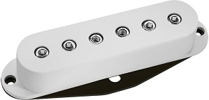 DiMarzio DP111 SDS-1 High Output Single Coil Ceramic Bar Strat Pickup, White
