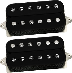 DiMarzio DP260/DP261 PAF Master Vintage P.A.F. Humbucker Neck/Bridge Pickup Set, Black