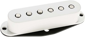 DiMarzio DP423 Injector High Output Hum-Cancelling Strat Bridge Pickup, White