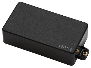 EMG 60A Active Alnico Dual Coil Humbucking Electric Guitar Pickup, Black